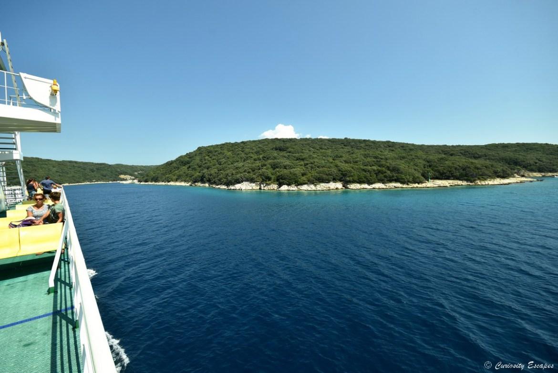 Île de Krk depuis le ferry