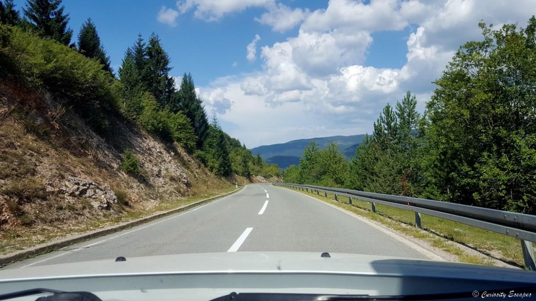 Col de montagne en Croatie
