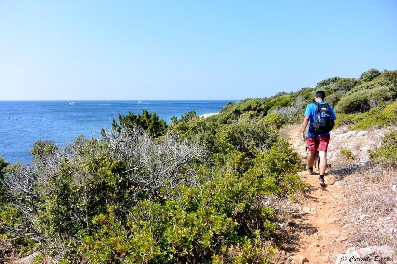 Randonnée sur l'île de Lošinj