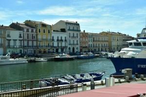 Vue du canal de Sète