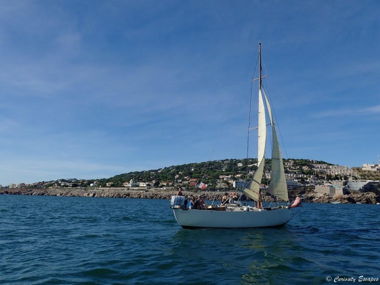Vagabond, voilier à Sète