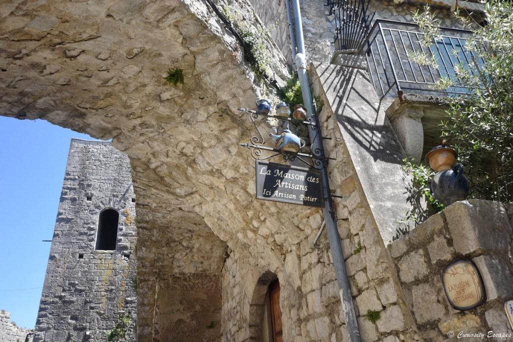 Boutique de Balazuc, Ardèche