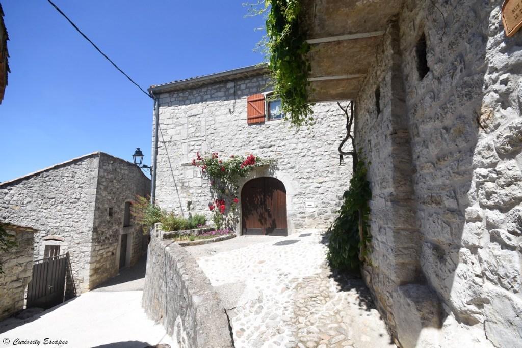 Maison en pierre à Balazuc, Ardèche