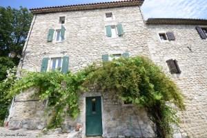 Jolies maison de Labeaume, Ardèche