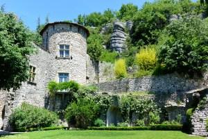 Le jadin suspendu du château de Vogüé, Ardèche
