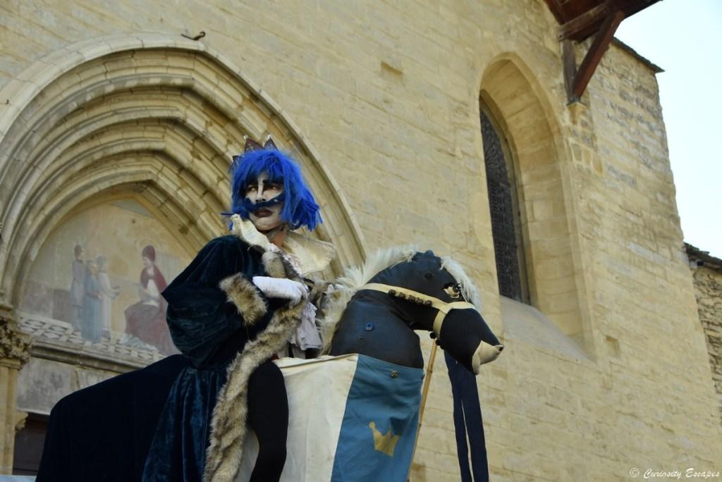 Saynète aux Médiévales de Crémieu