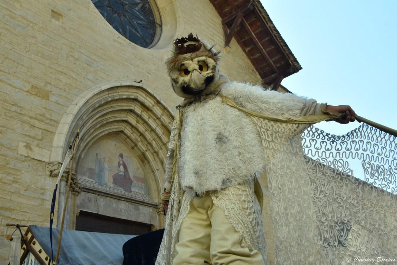 Echassier aux Médiévales de Crémieu