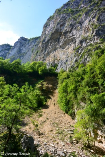 Falaises de Cognin-les-Gorges