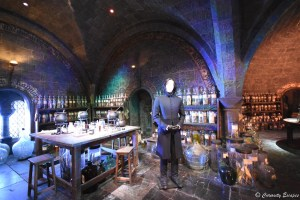 Salle de potions à Poudlard