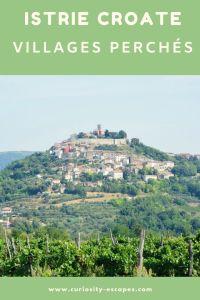 Villages perchés d'Istrie croate