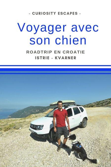 Voyager avec son chien en Croatie