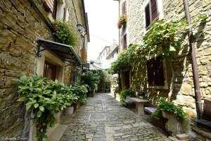 Village de Grožnjan en Croatie