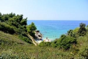 Crique au Cap Kamenjak en Croatie