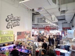 Marché des créateurs du Chelsea Market, New-York