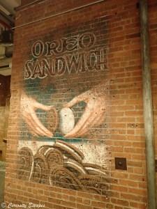 Fresque Oreo au Chelsea Market, NYC