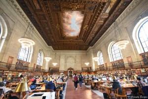 Grande salle de la Public Library de New-York
