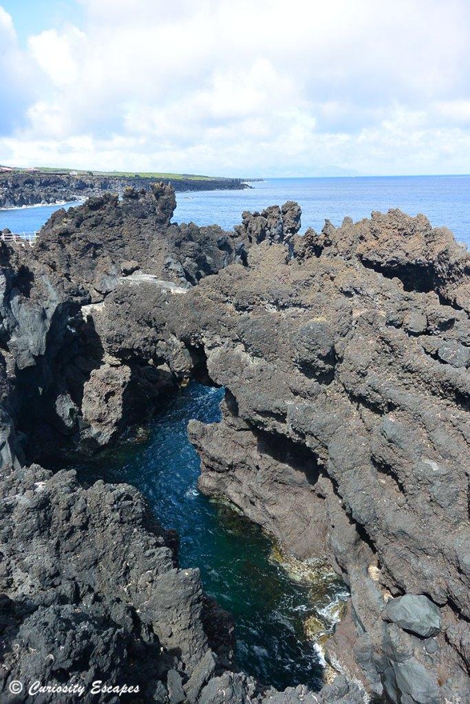 Port de Cachorro au nord de Pico, Açores