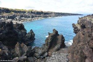Port ed Cachorro au nord de Pico, Açores