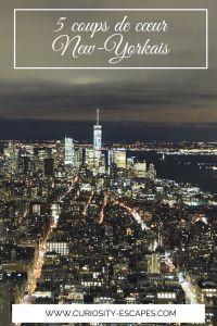 Visites coup de coeur à New York
