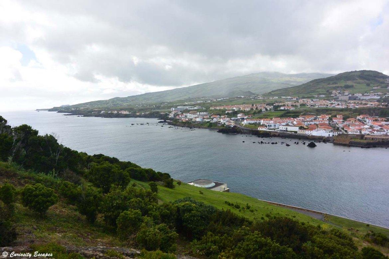 Baie d'Horta sur l'île de Faial