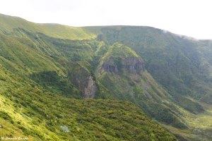 Cœur vert de la Caldeira de Faial, Açores