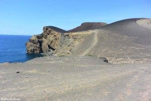 Eruption du volcan Capelinhos sur l'île de Faial