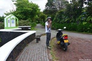 Visiter l'île de Faial en scooter, les Açores