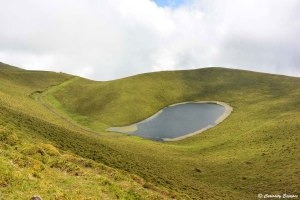 Petit lac sans nom sur Pico, Açores