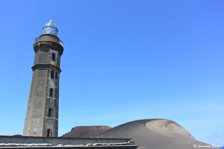 Phare de l'île de Faial aux Açores