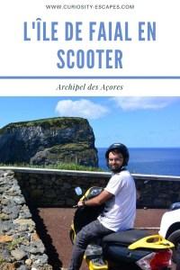 Les Açores: visiter l'île de Faial de façon économique avec un scooter