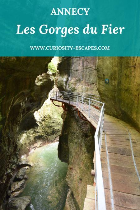 Visiter les Gorges du Fier, canyon vertigineux près d'Annecy