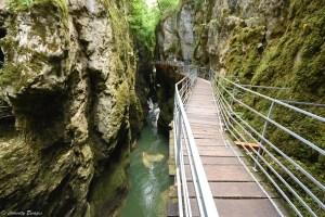 Balade aérienne aux gorges du Fier, Haute-Savoie