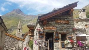 Clocher de Bonneval-sur-Arc en Savoie