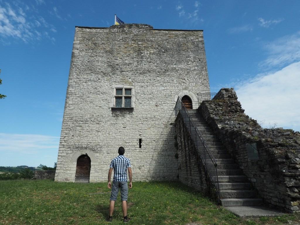 Tour médiévale de Morestel, Isère