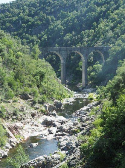 Pont dans les gorges du Doux, Ardèche
