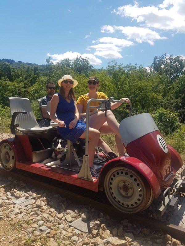 Vélorail en Ardèche