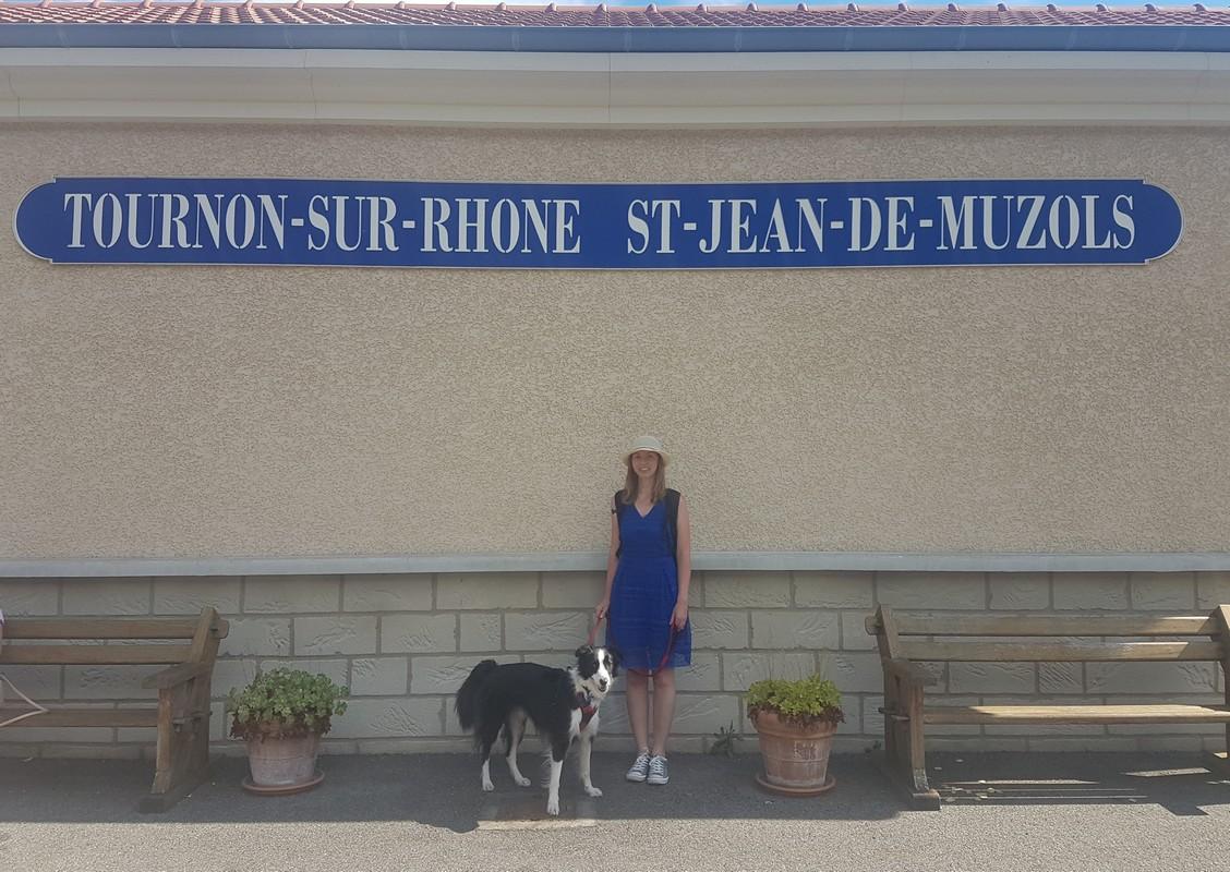 Gare de Tournon-sur-Rhône en Ardèche