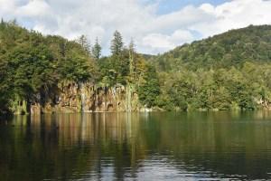 Reflets sur les lacs de Plitvice