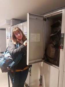 Les casiers à bagaes dans les gares japonaises