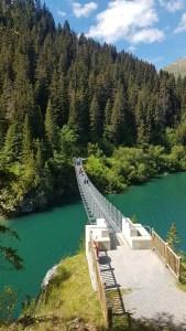 Passerelle du lac de Saint Guérin
