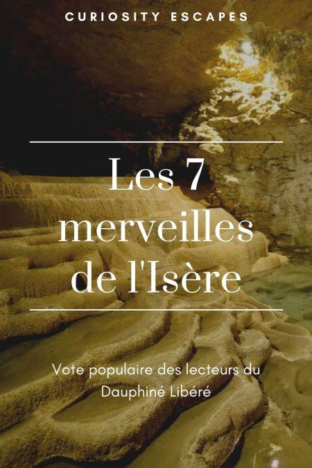 Les 7 merveilles de l'Isère élues en 2020