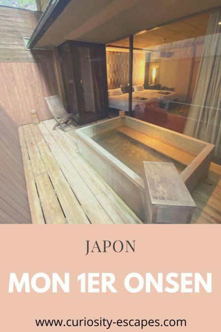 Ma première fois dans un bain public japonais
