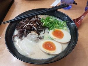 Bol de ramen, spécialité de la ville de Fukuoka