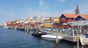 Fjällbacka sous le soleil d'été, Suède