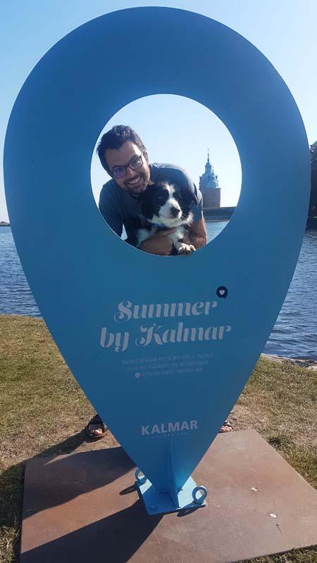 Visiter Kalmar avec son chien, voyager en Suède avec son chien.