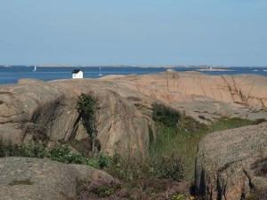 Réserve naturelle de Stångehuvud dans le Bohuslän, Suède