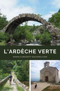 Séjour en Ardèche Verte au nord du département