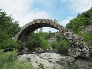 Le pont romain de Saint Sylvestre en Ardèche