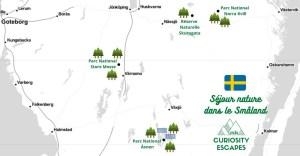 Roadtrip dans le sud de la Suède, dans le Småland