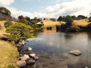 Jardin Suizenji à Kumamoto